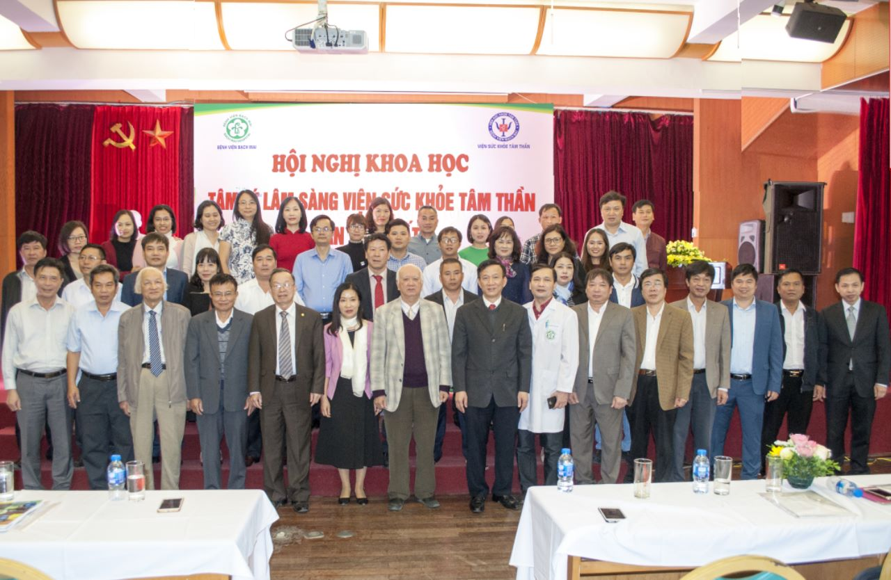 Trên 300 đại biểu tham dự Hội nghị khoa học Tâm lý lâm sàng lần thứ nhất do Viện Sức khỏe Tâm thần Bệnh viện Bạch Mai tổ chức