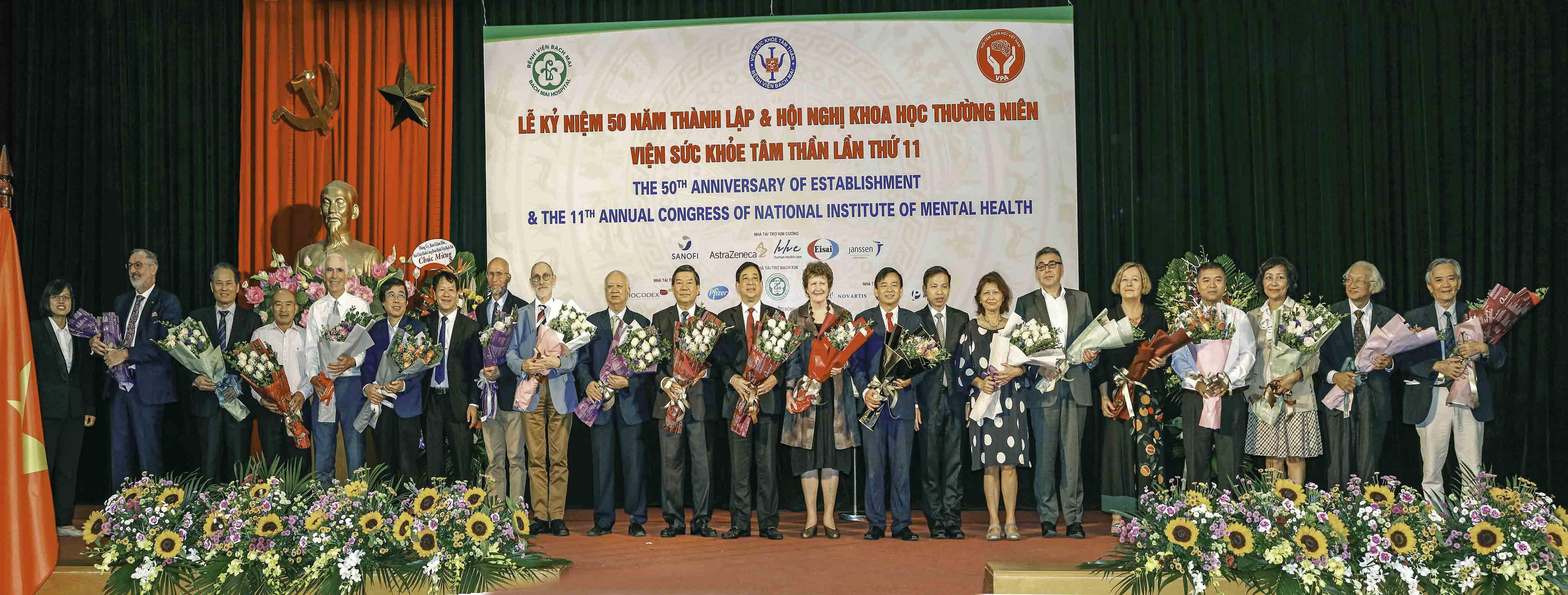 Viện Sức khỏe Tâm thần tổ chức Lễ Kỷ niệm 50 năm thành lập