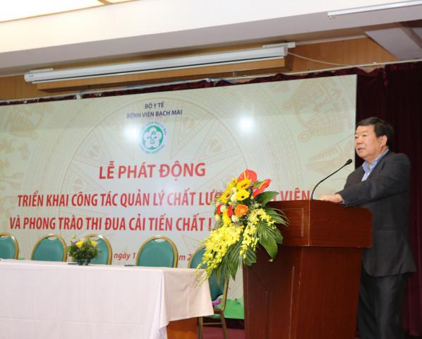 Bệnh viện Bạch Mai phát động phong trào thi đua Cải tiến chất lượng năm 2019